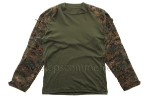 Тактическа блуза Tru-Spec TRU Combat Shirt Woodland Digital