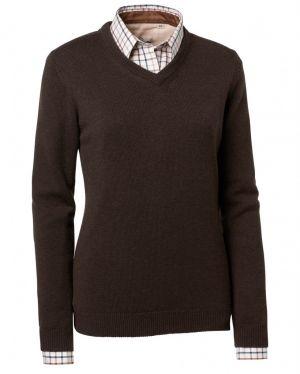 Ловен пуловер Chevalier Gaby Lady Brown