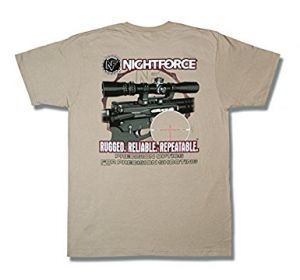 Ловна тениска Nightforce ART T-Shirt