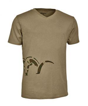 Ловна тениска Blaser Logo V T-shirt dune