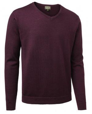 Пуловер за лов Chevalier Gart Merino Purple