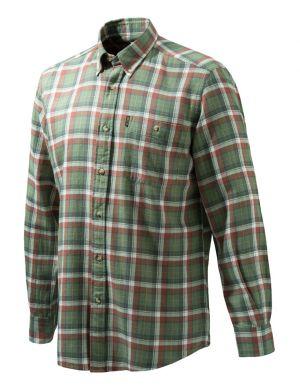 Ловна риза Beretta зелено каре