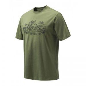 Ловна тениска Beretta Engravers Duck