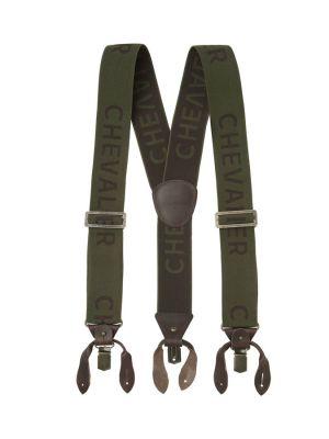 Тиранти Chevalier Logo Suspenders Dark Green