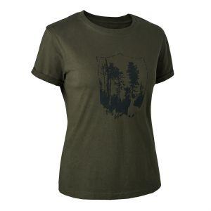 Дамска тениска Deerhunter Lady with shield